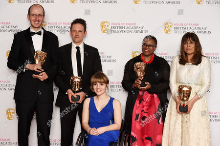 Jack Thorne, Ben Anthony, Pier Wilkie, Aysha Rafaele and Ruth Madeley