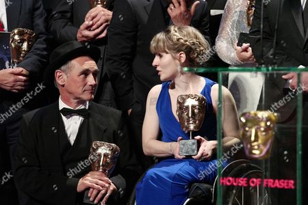 Mark Rylance and Ruth Madeley