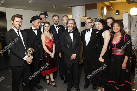 Editorial photo of House of Fraser British Academy Television Awards, Backstage, Royal Festival Hall, London, Britain - 08 May 2016