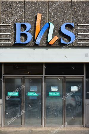 Clearance sale at BHS, Woodgreen, London