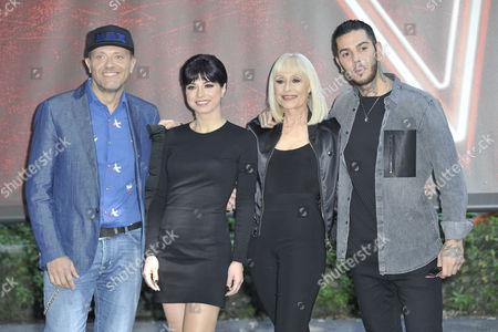 Max Pezzali, Dolcenera Raffaella, Carra and Emis Killavoice