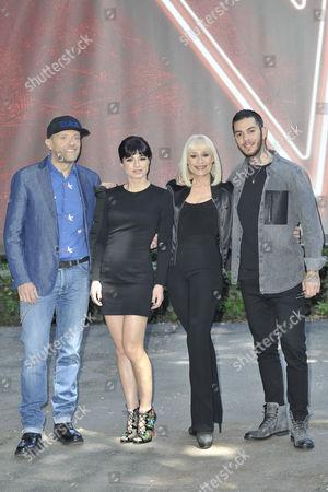 Editorial photo of 'The Voice of Italy' Italian TV show, Milan, Italy - 03 May 2016