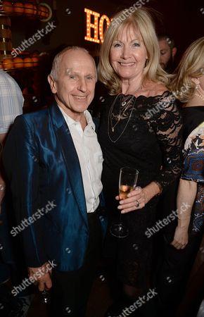 Wayne Sleep and Debbie Moore