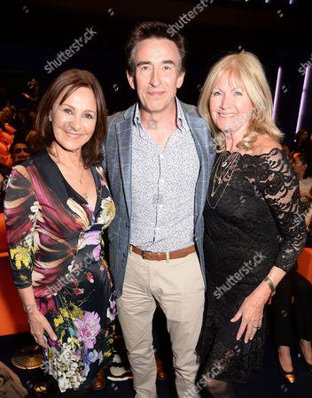 Arlene Phillips, Steve Coogan and Debbie Moore