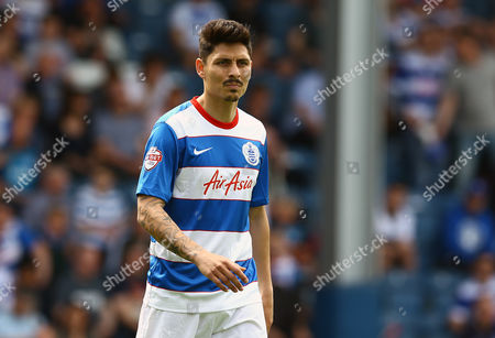 Alejandro Faurlin of QPR during the Sky Bet Championship match between Queens Park Rangers and Bristol City played at Loftus Road, London on 7th May 2016