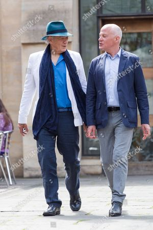 Sir Ian McKellen and Michael Cashman