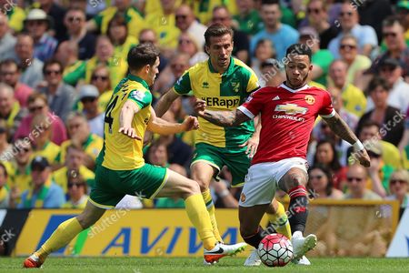 Editorial image of Norwich City v Manchester United, Barclays Premier League, Football, Carrow Road, Britain - 7 May 2016