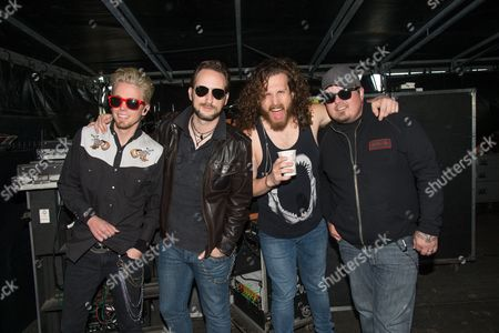 Black Stone Cherry - Chris Robertson, Ben Wells, Jon Lawhon, and John Fred Young