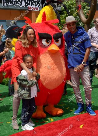 Tia Mowry-Hardrict, Cory Hardrict and son Cree Taylor Hardrict