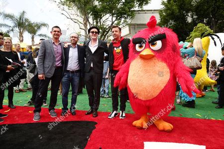 Clay Kaytis, Producer John Cohen, Fergal Reilly, Jason Sudeikis