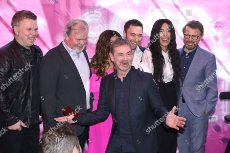 Editorial photo of 'Good Evening Europe - 60 years of Eurovision Song Contest' Exhibition Launch, ABBA Museum, Stockholm, Sweden - 07 May 2016