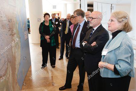Mimi Gardner Gates, Jim Cuno, Bill Gates and Deborah Marrow