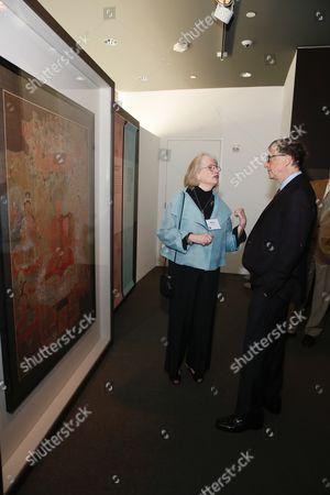 Mimi Gardner Gates and Bill Gates