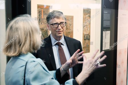 Stock Picture of Mimi Gardner Gates and Bill Gates