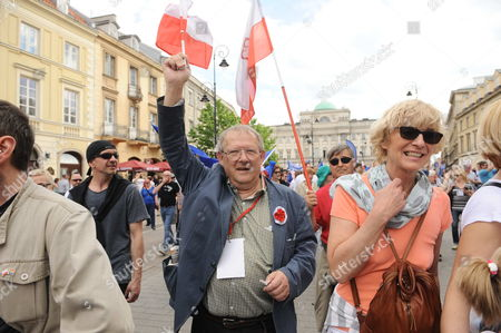 Editorial photo of Demonstrations in Warsaw, Poland - 07 May 2016