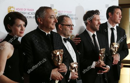 Peter Kosminsky, Colin Callender, Mark Pybus and Peter Straughan - Wolf Hall