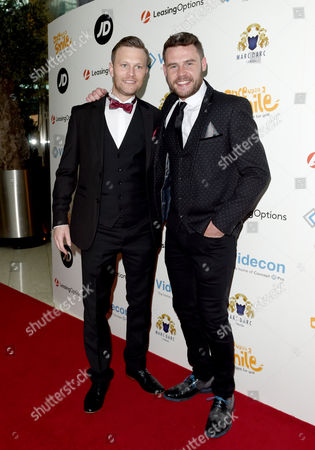 Stock Picture of Daniel Jillings and Danny Miller