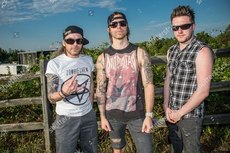 Bullet for my Valentine - Jason James, Matthew Tuck, and Michael Paget