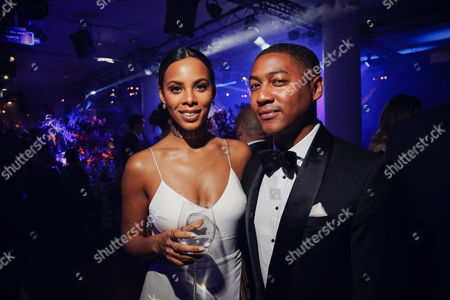 Rochelle Humes and Rickie Haywood-Williams