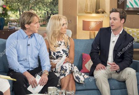 Nik and Eva Speakman with Richard Riddell