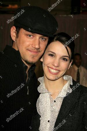 Carl Thomas and Christy Carlson Romano