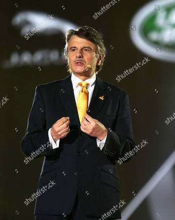 Dr Ralf Speth Chief Executive Officer, Jaguar Land Rover