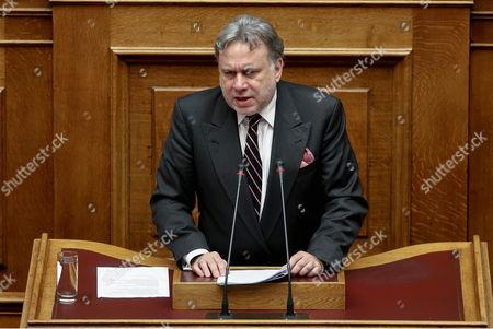 Work Minister Georgios Katrougalos
