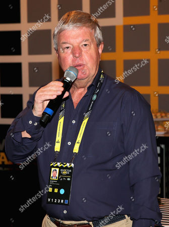 Sir Keith Mills talks during a reception for the Invictus Games Foundation at the Invictus Games Orlando 2016 at ESPN Wide World of Sports