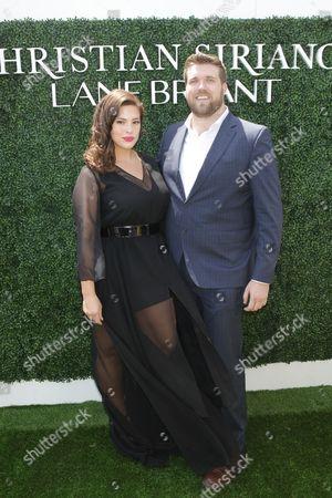 Stock Photo of Ashley Graham and Zach Miko