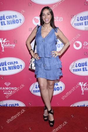 Stock Image of Claudia Cervantes