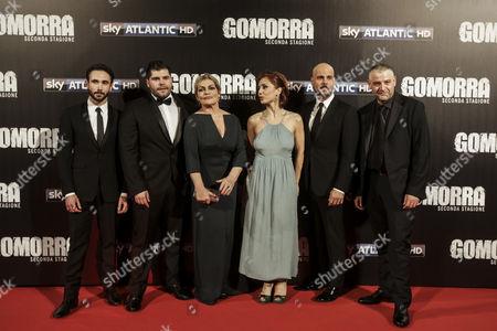 Editorial photo of 'Gomorra' television season premiere, Rome, Italy - 09 May 2016