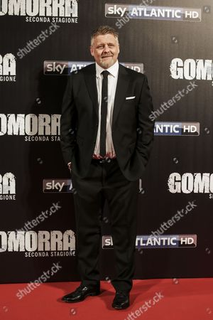 Editorial image of 'Gomorra' television season premiere, Rome, Italy - 09 May 2016