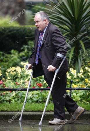Robert Halfon MP arrives at Number 10 Downing Street