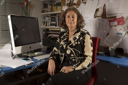 Editorial image of Gillian Slovo at home in London, Britain - 16 Feb 2016