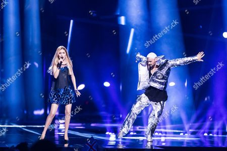 """Lidia Isac of Moldova performs her song """"Falling Stars"""""""