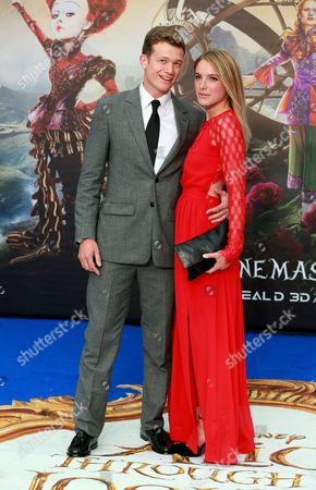 Ed Speleers and Asia Macey