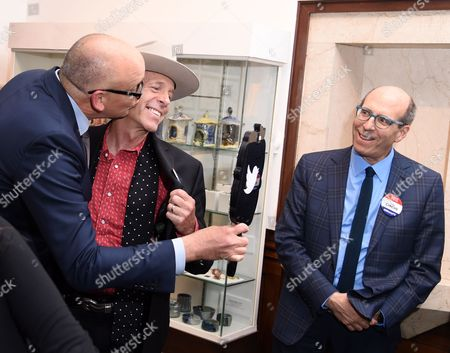 John Heilemann, Mark McKinnon, and Matt Blank