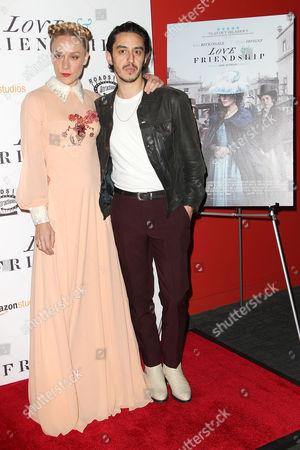 Chloe Sevigny and Ricky Saiz