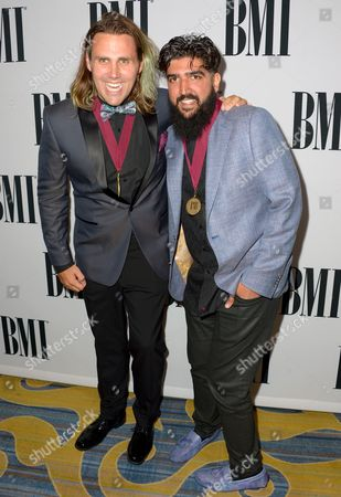 Editorial image of The 64th Annual BMI Pop Awards, Arrivals, Los Angeles, America - 10 May 2016