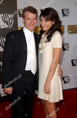 Tate Donovan and wife Corinne Kingsbury