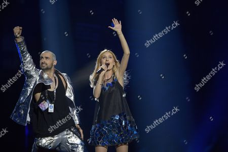 Editorial image of Eurovision Song Contest - First Semi-Final, Ericsson Globe, Stockholm, Sweden - 10 May 2016