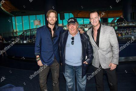 Tyler Hubbard, Brian Kelley, and Robin Leach