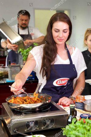 Lisa Trede promotes Barilla Pasta