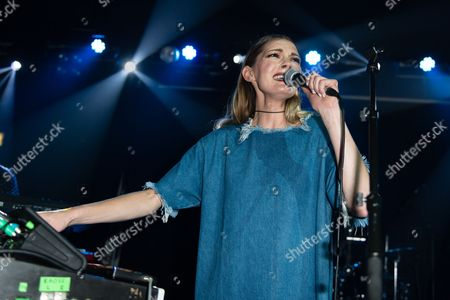 Editorial image of Rosie Lowe concert at Scala, London, Britain - 11 May 2016