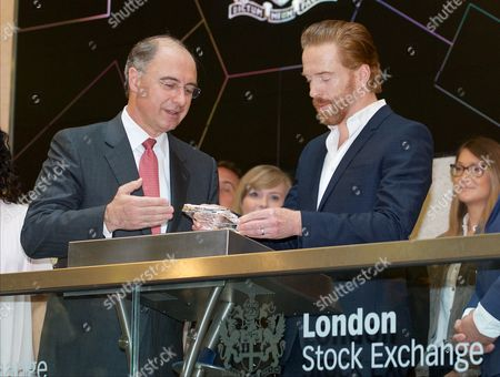 Editorial picture of Damian Lewis opens the London Stock Exchange to mark the premiere of Sky Atlantic's 'Billions' on Sky Box Sets, London, Britain - 11 May 2016