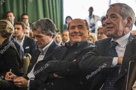 Alfio Marchini, Silvio Berlusconi, Guido Bertolaso