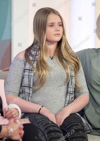 Lily-Sue McFadden, daughter of Kerry Katona