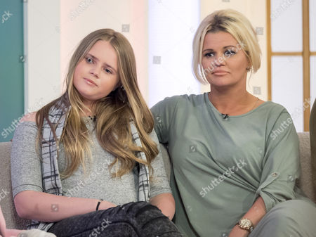 Kerry Katona with daughter Lily-Sue McFadden