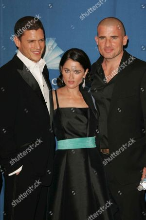 Wentworth Miller, Robin Tunney and Dominic Purcell