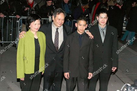 Jane Lin with Ang Lee and sons, Mason and Haan